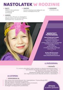 Plakat Nastolatek